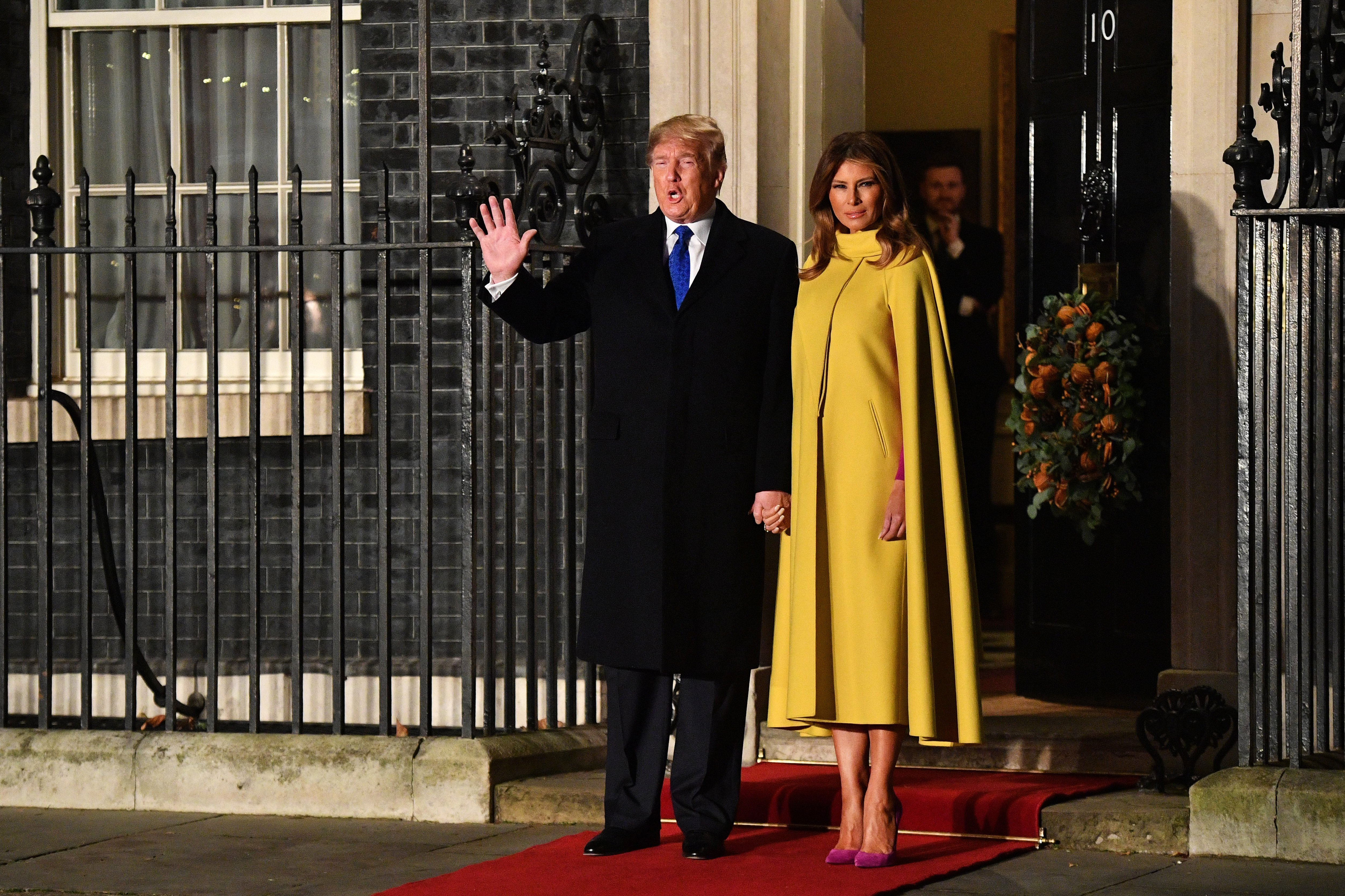 Donald Trump and Melania Trump attend the NATO Summit in London, England on December 3, 2019 | Photo: Getty Images