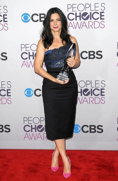 Sandra Bullock participates at the 39th Annual People's Choice Awards - Press Room held at Nokia Theater L.A. Live on January 9, 2013