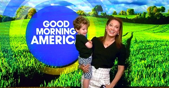 'Good Morning America' Meteorologist Ginger Zee Interrupted On-Air by Toddler Son Who Wants Donuts