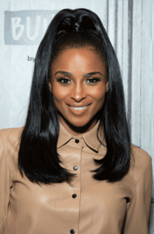 Ciara visits Build Studio on October 30, 2019 in New York City.   Photo: Getty Images