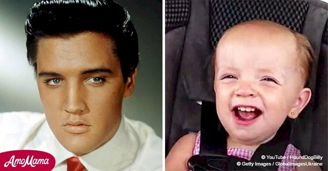 Baby girl sings iconic Elvis Presley song and her performance went viral