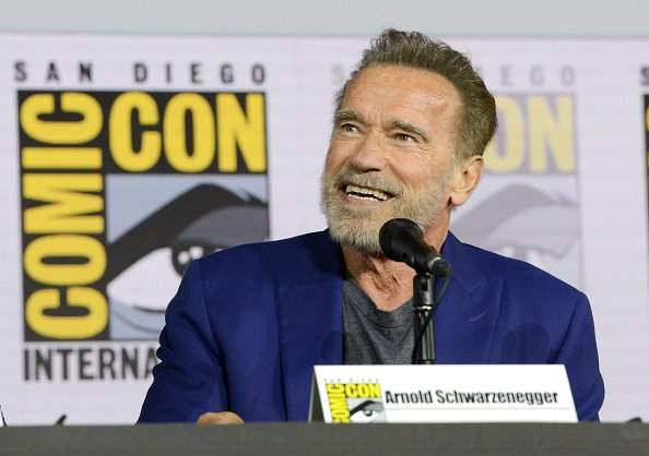 Arnold Schwarzenegger at San Diego Convention Center on July 18, 2019 in San Diego, California | Photo: Getty Images