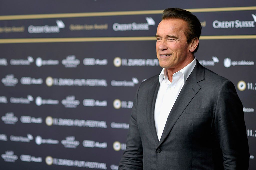 Actor Arnold Schwarzenegger at the 'Maggie' Premiere and Golden Icon Award Ceremony during the Zurich Film Festival on September 30, 2015 in Zurich, Switzerland. The 11th Zurich Film Festival will take place from September 23 until October 4 | Photo: Getty Images