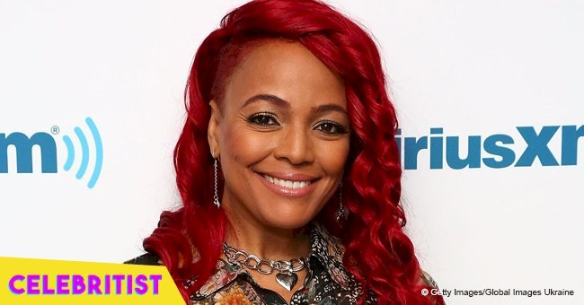Kim Fields' husband melts hearts with sweet photo of son sleeping on his dad's shoulders