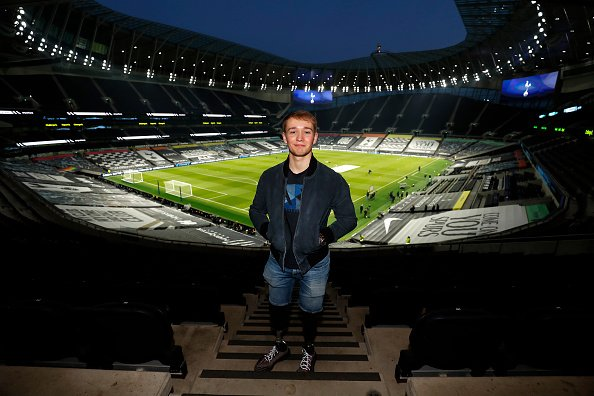 Billy Monger at Tottenham Hotspur Stadium on March 07, 2021 in London, England. | Photo: Getty Images