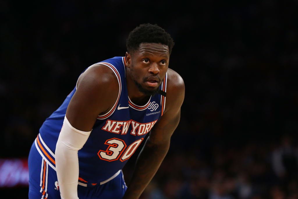 Julius Randle #30 of the New York Knicks in action against the Houston Rockets at Madison Square Garden on March 02, 2020. | Getty Images