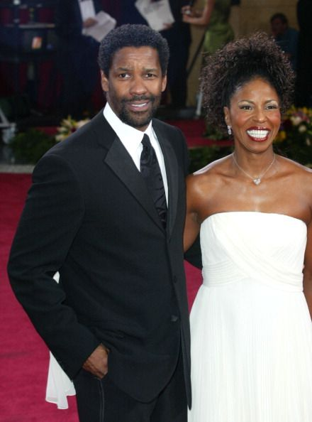 Denzel Washington and wife Paulette at he 75th Annual Academy Awards | Source: Getty Images