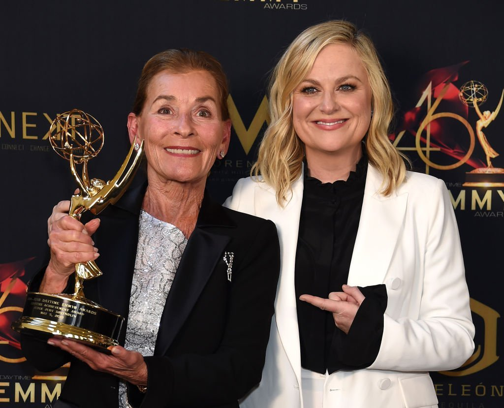 Judge Judy with Amy Poeler / Getty Images