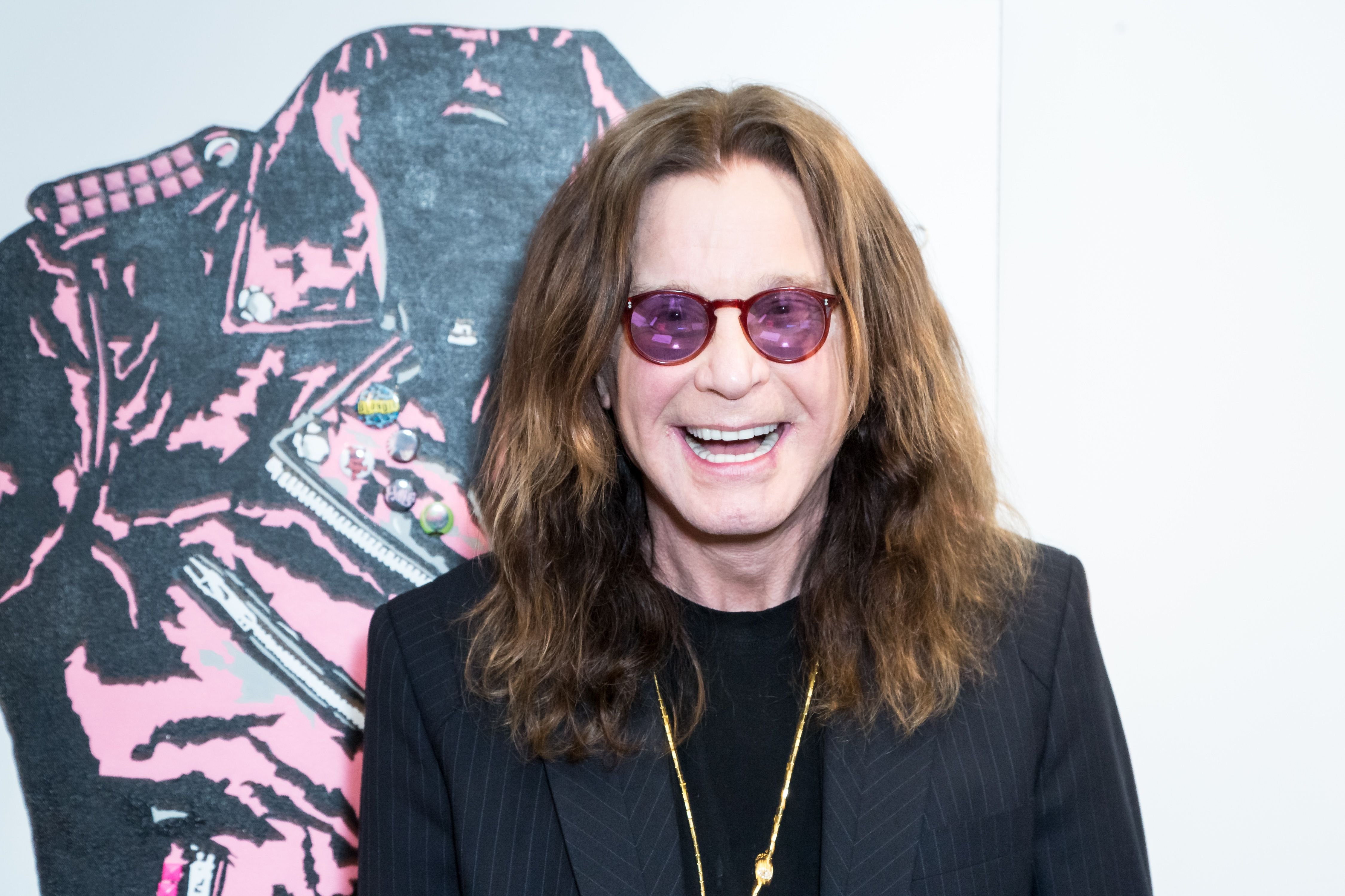 Ozzy Osbourne at the Billy Morrison - Aude Somnia Solo Exhibition at Elisabeth Weinstock on September 28, 2017 in Los Angeles, California. | Source: Getty Images