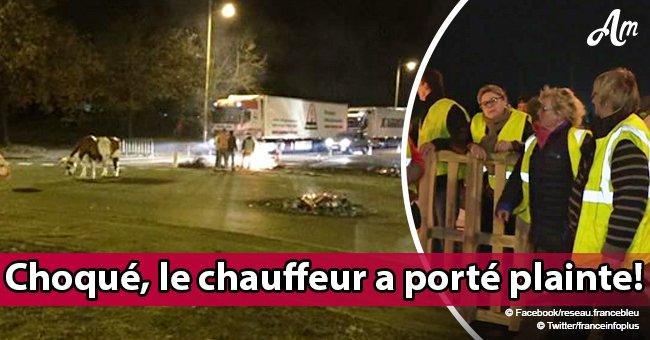 Rouen: Un camion bulgare a été pris au piège et poursuivi sur 12 kilomètres par des Gilets jaunes