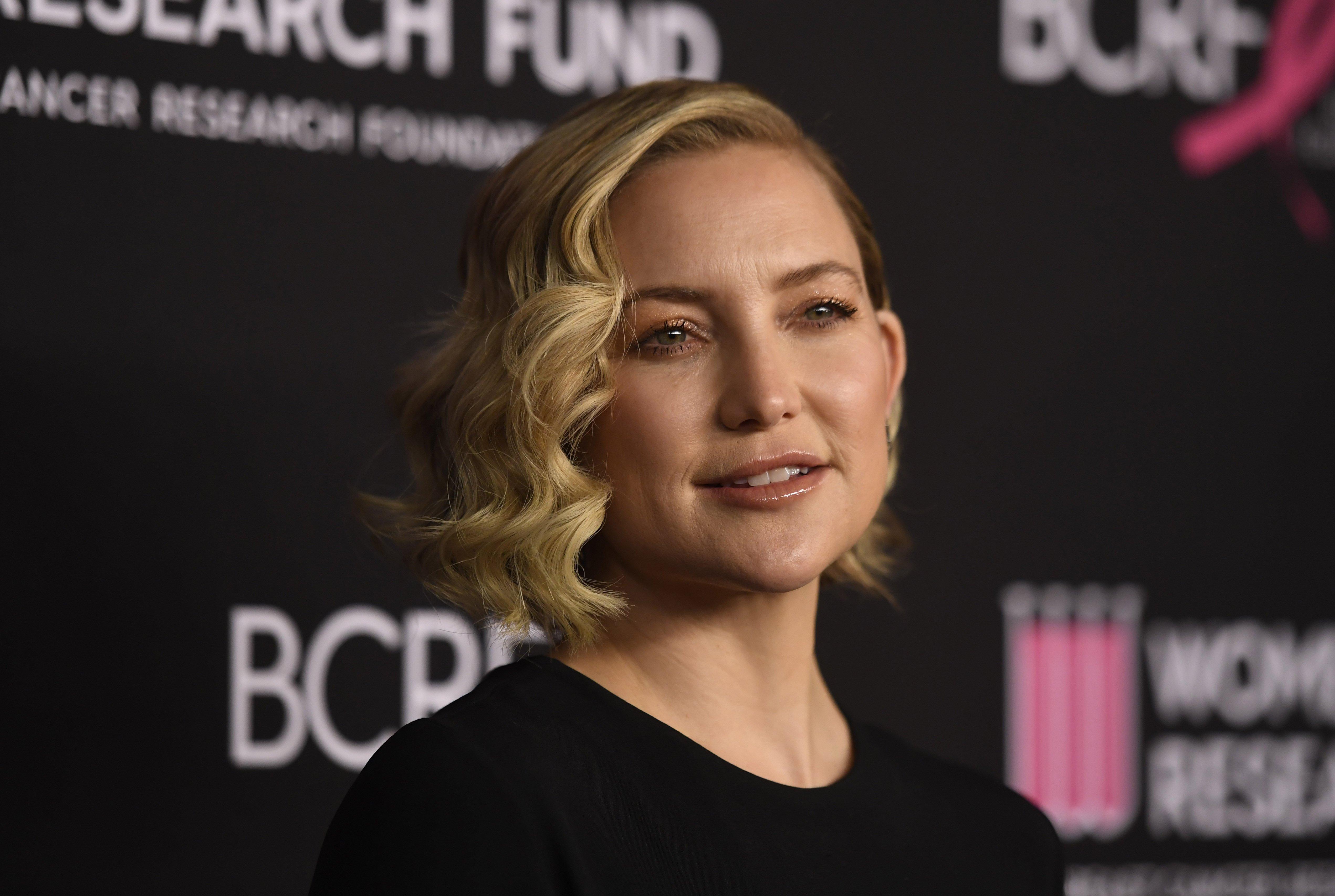 February 2020 Kate Hudson attended an event for The Women's Cancer Research Fund.| Photo Getty Images