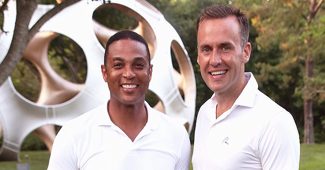 Tim Malone Takes Photos of Fiancé Don Lemon Showing His Domestic Side as He Bakes Cookies