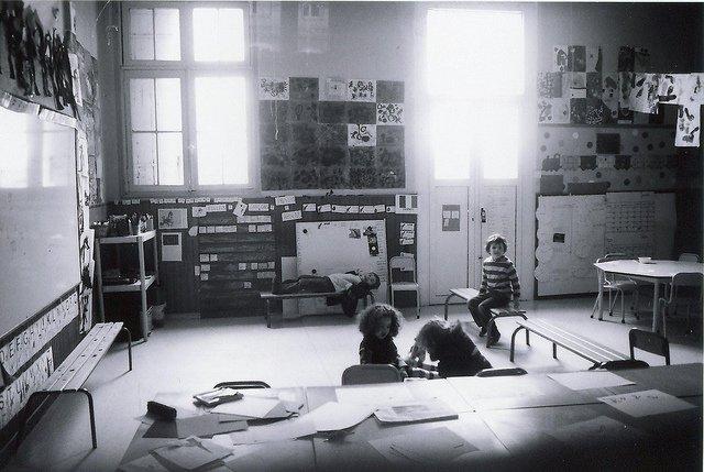 Une classe de maternelle. l Source: Flickr