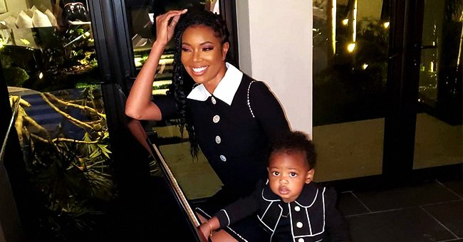 Gabrielle Union's Daughter Kaavia James Smiles in a Beautiful White Dress (Video)