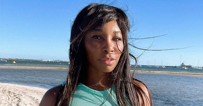 Check Out Venus Williams' Enviable Thighs as She Poses with Her Dog in Cheetah-Print Shorts
