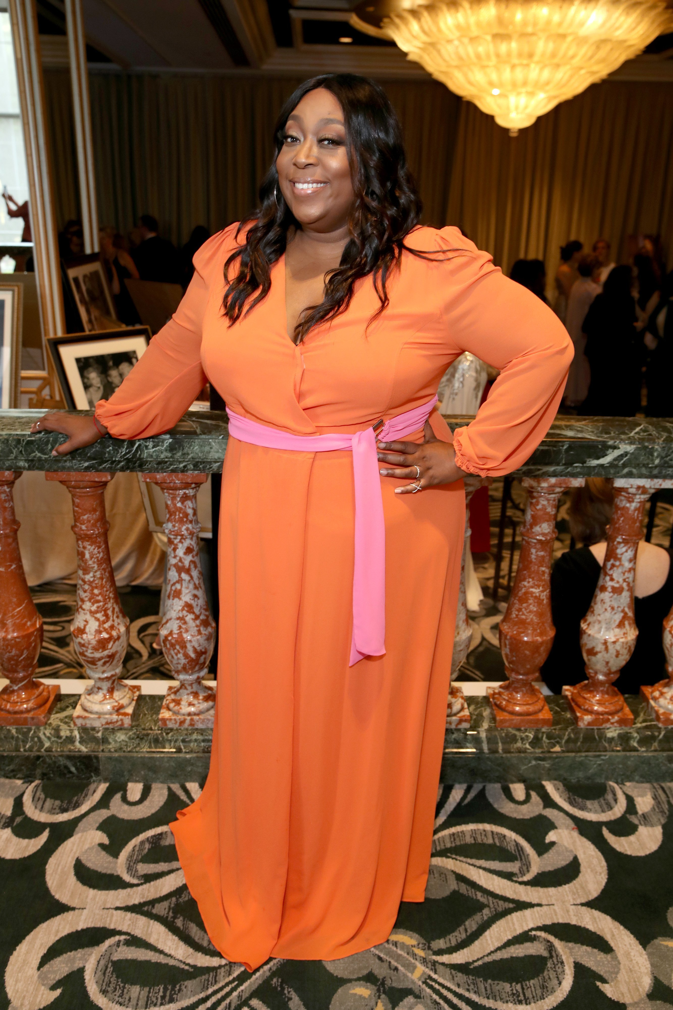 Loni Love at the 44th Annual Gracies Awards on May 21, 2019 in California.   Source: Getty Images