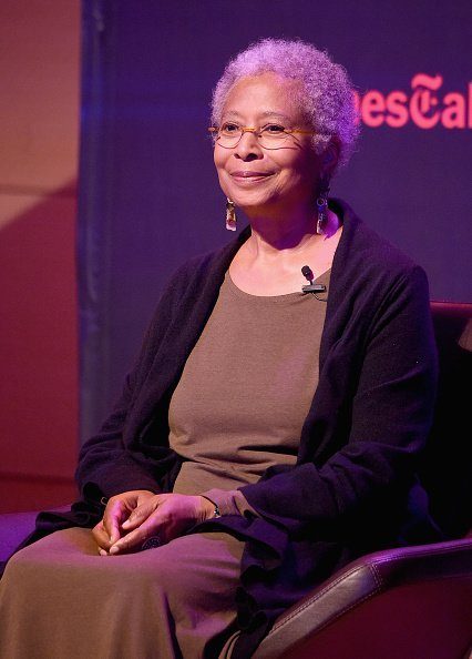 "Author Alice Walker at ""The Color Purple"" TimesTalks on October 29, 2015 