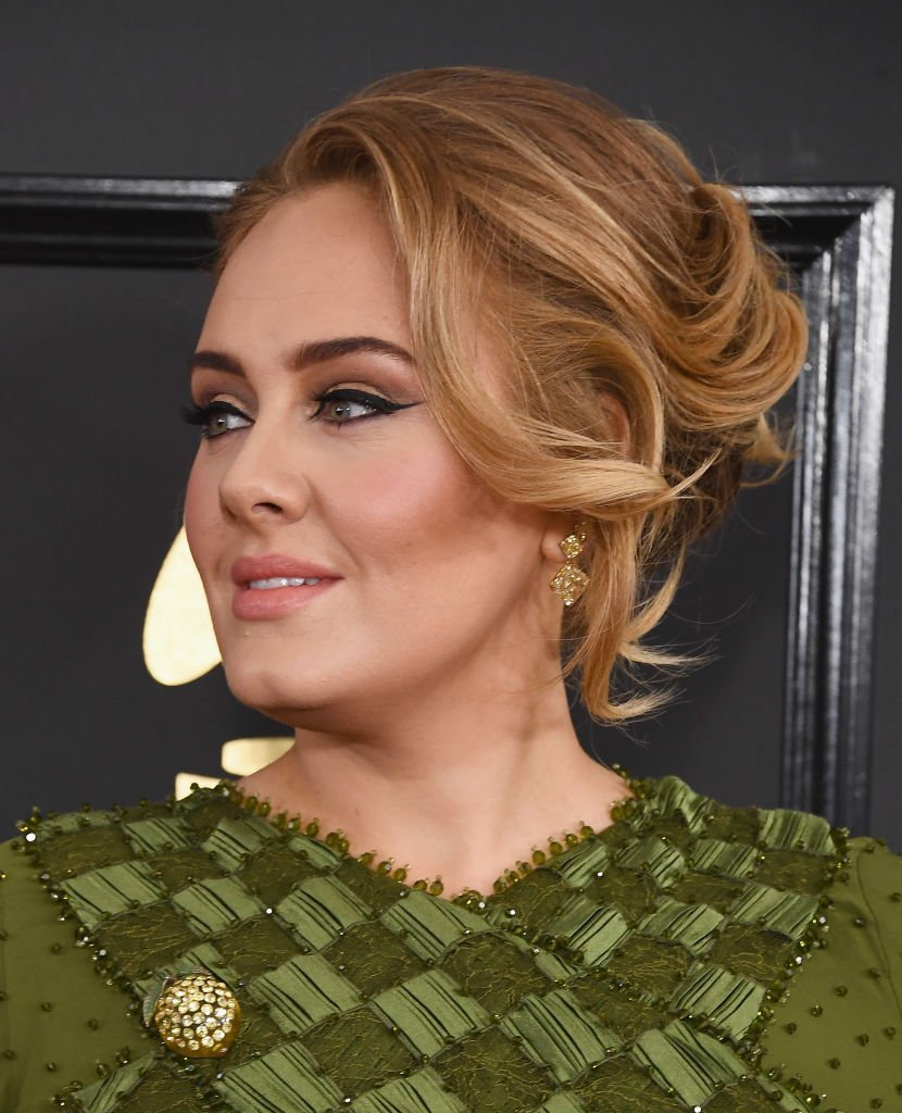 Adele au 59ème GRAMMY Awards / Source :Ggetty Images