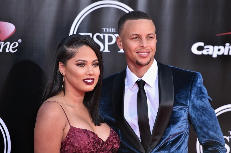 Stephen Curry and Ayesha Curry in Los Angeles on July 13, 2016. | Source: Getty Images