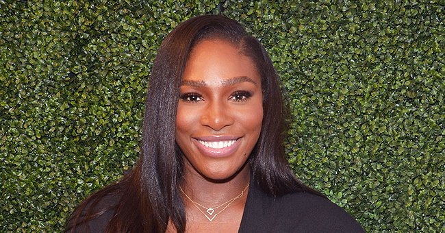 Serena Williams Looks Tall In a Pink Mini Dress While Posing Barefoot on the Grass