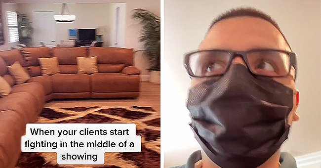 Realtor Films as His Clients Start Fighting in the Middle of a Showing