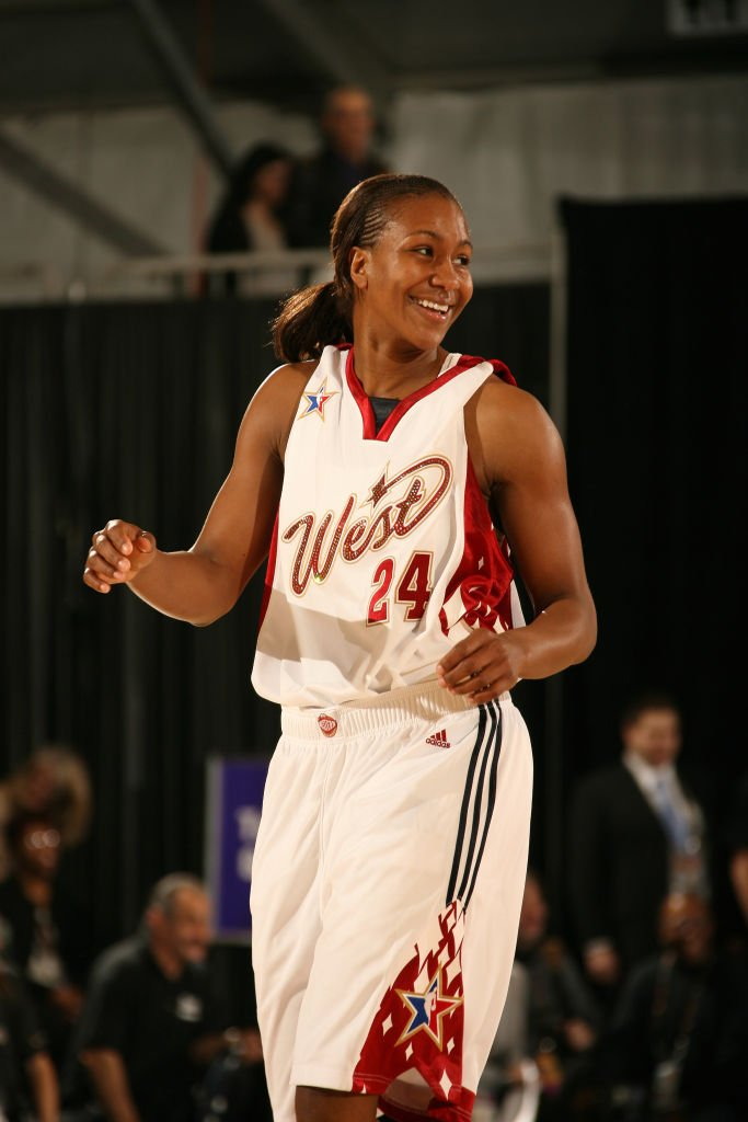 Tamika Catchings during the McDonald's NBA All-Star Celebrity Game on February 16, 2007 in Las Vegas, Nevada   Photo: Getty Images