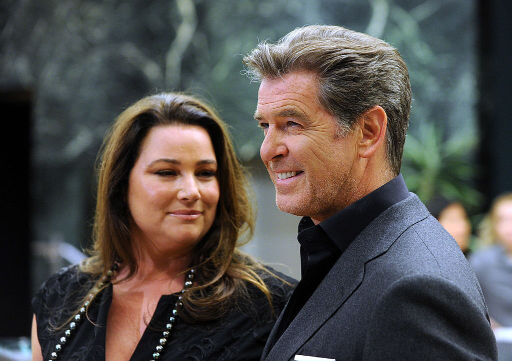 Pierce Brosnan and wife Keely Shay  Photo: Getty Images