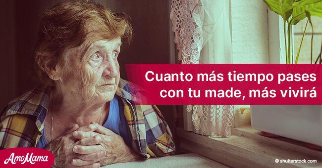 Pasar más tiempo con tu mamá la hará vivir más y mejor