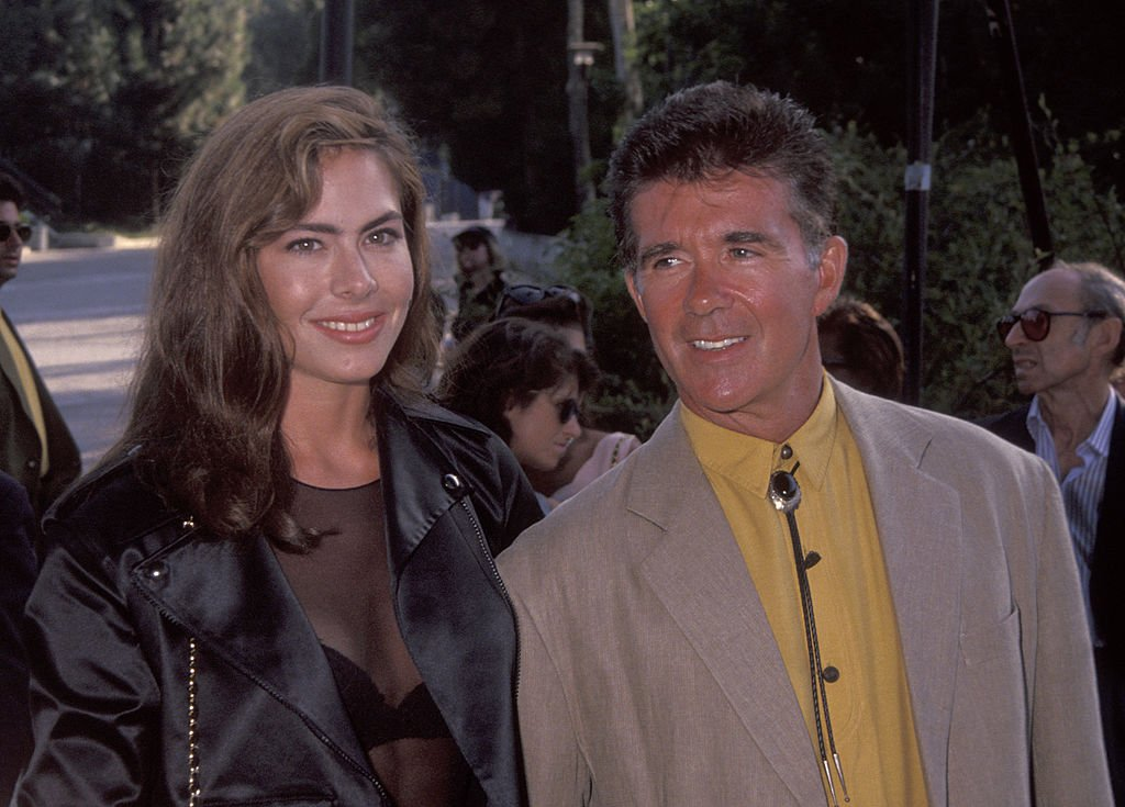 Alan Thicke Gina Tolleson attending 'An Evening At the Net Benefit', August 1992 | Source: Getty Images