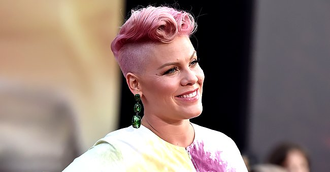 Pink Is Joined by Her Children as She Explains How She Comes up with Songs in Cute Video