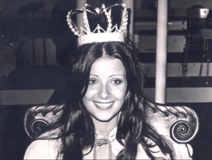 Amparo Muñoz solo tenía 19 años cuando ganó el Miss España. | Imagen: YouTube/Alejandro Zuniga Recordando