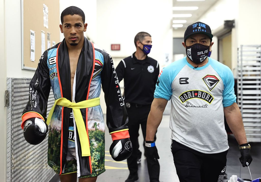 Felix Verdejo pictured walking at the MGM Grand Conference Center Grand Ballroom on July 16, 2020 in Las Vegas, Nevada.   Source: Getty Images