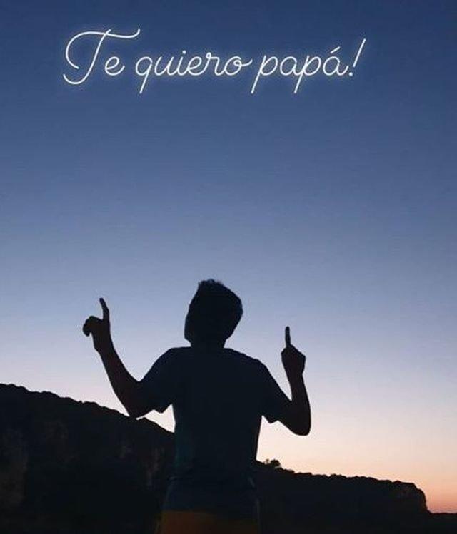 Story del hijo de José Antonio Reyes, un mes después de su muerte. | Foto: Instagram.com/_josereyeslopez_