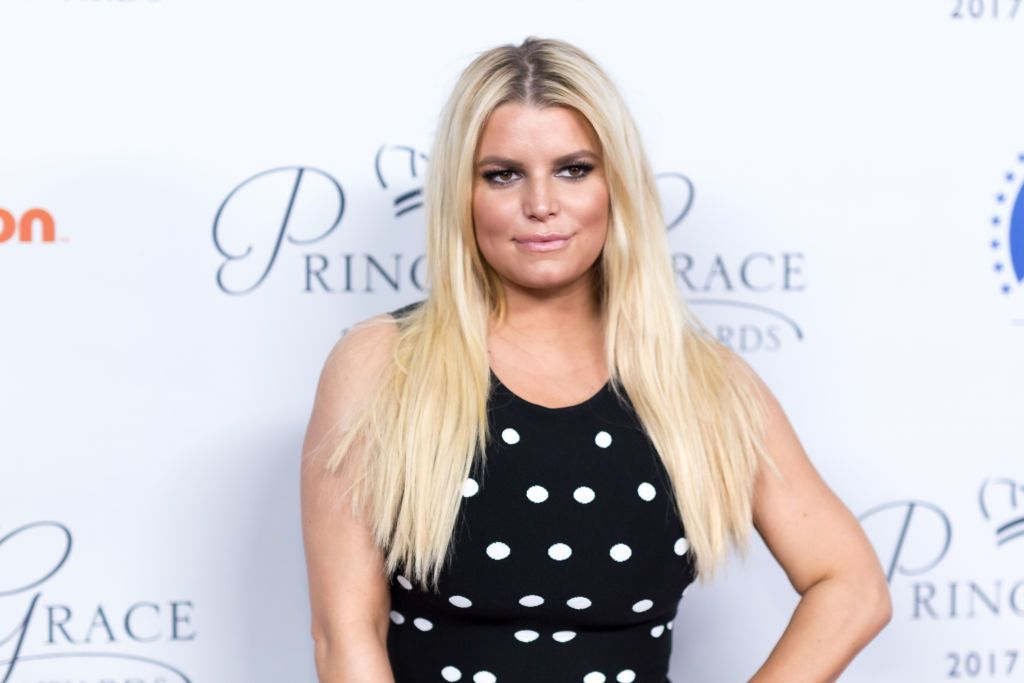 Jessica Simpson at the 2017 Princess Grace Awards Gala kick-off event at Paramount Pictures on October 24, 2017 | Photo: Getty Images