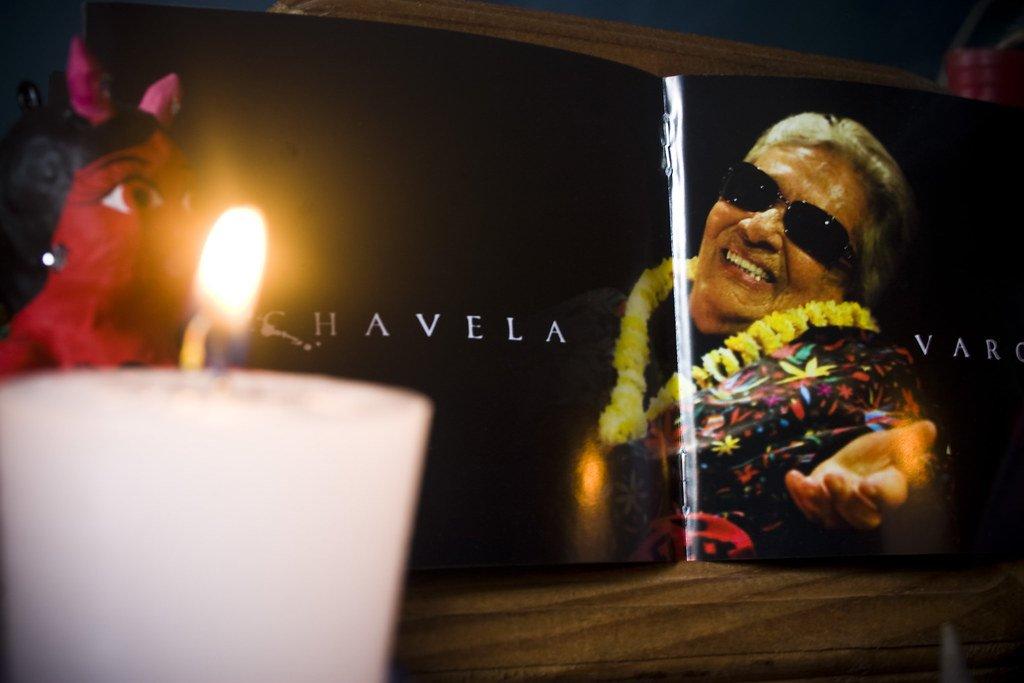 Chavela Vargas. | Foto: Flickr