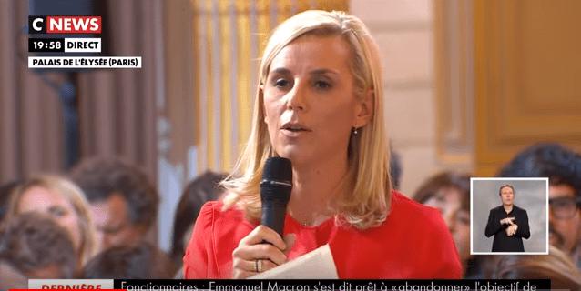 Emmanuel Macron répond à Laurence Ferrari. | CNEWS : Youtube