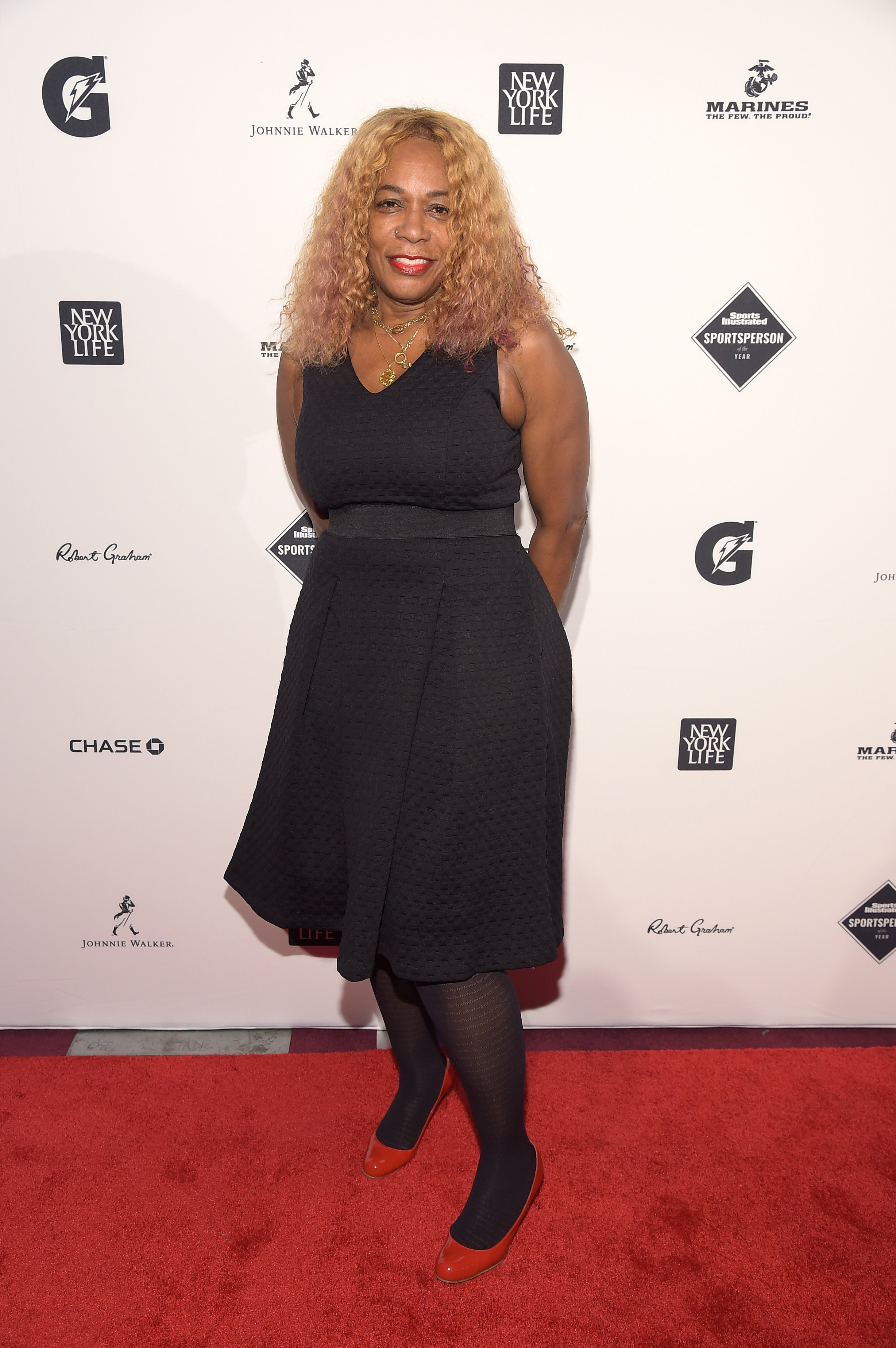 Oracene Price at the Sports Illustrated Sportsperson of the Year Ceremony in 2015   Photo: Getty Images