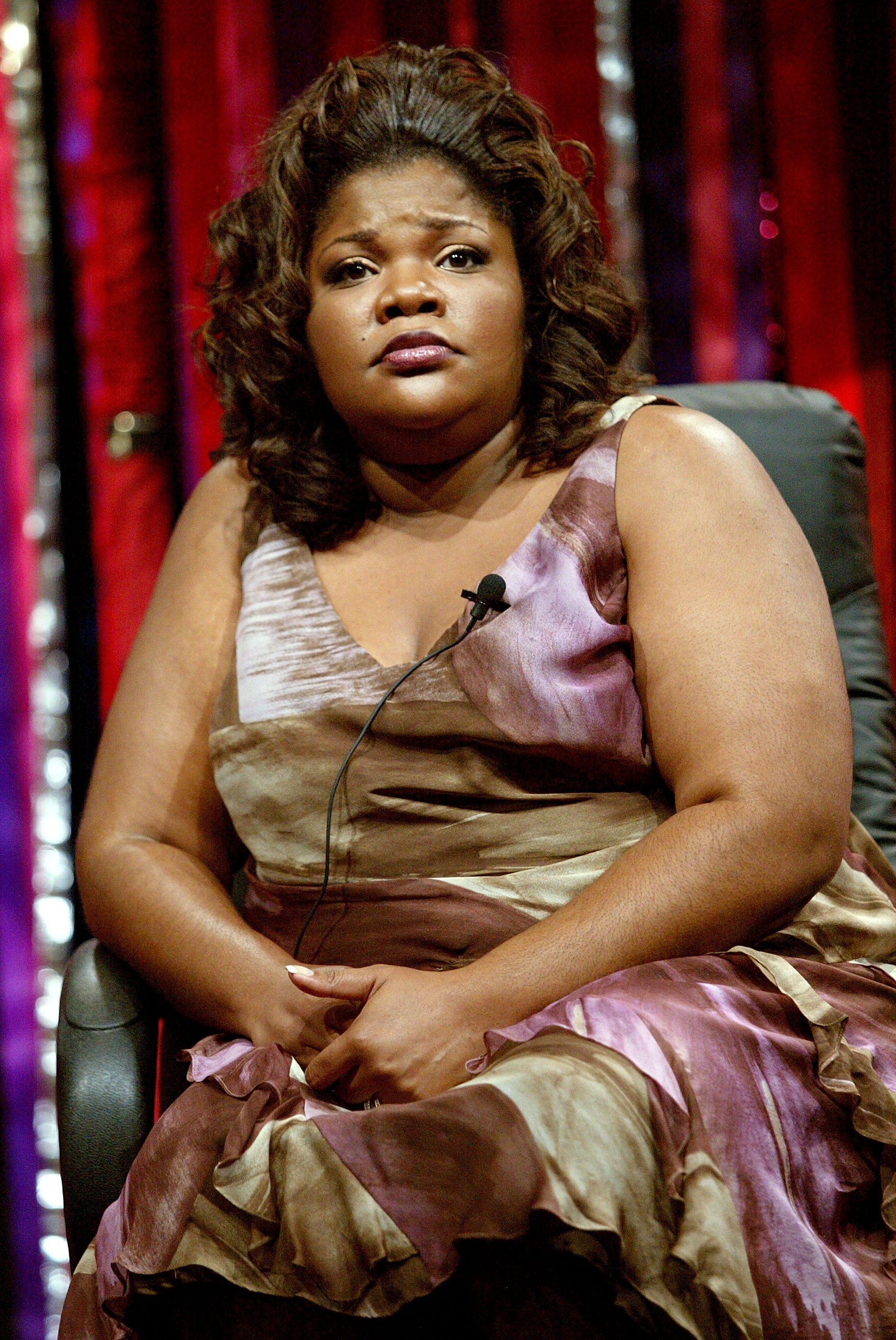 Mo'Nique at a 2005 press tour in California. | Photo: Getty Images