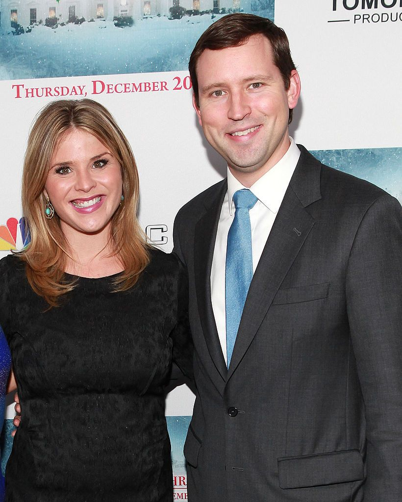 """Jenna Bush Hager and husband Henry Chase Hager at """"A White House Christmas: First Families Remember"""" premiere party on December 12, 2012, in New York 
