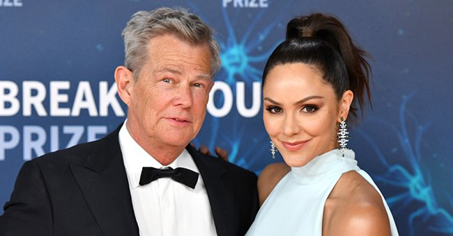 A portrait of Katharine McPhee and David Foster   Photo: Getty Images