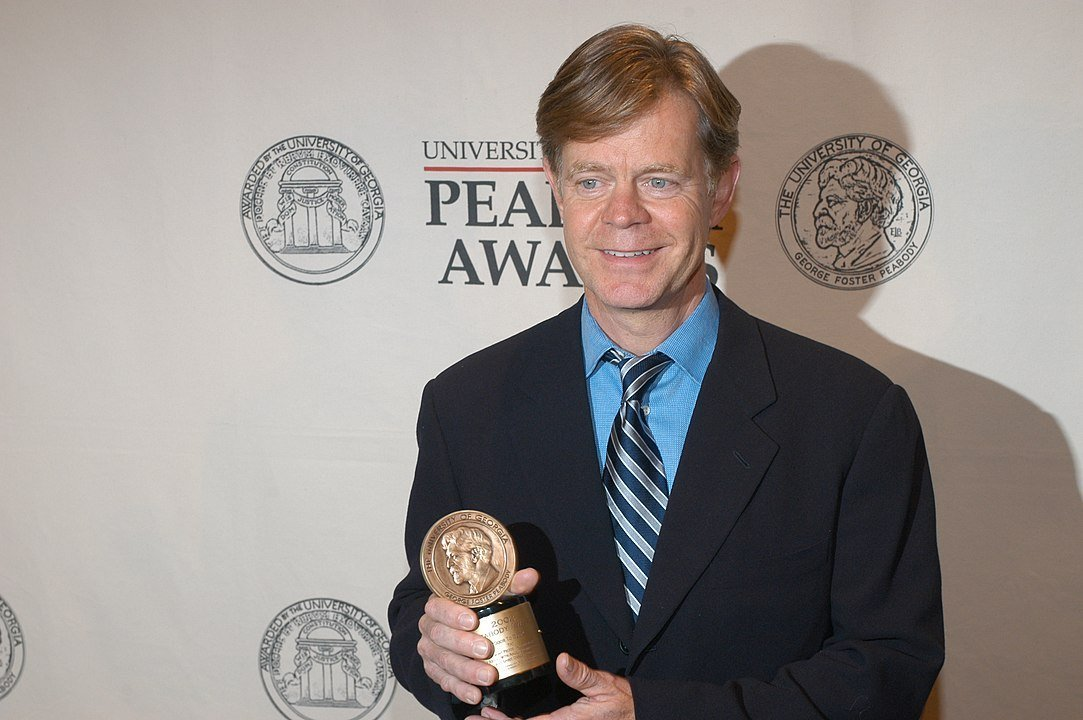 William H. Macy at the 62nd Annual Peabody Awards Luncheon,  May 19, 2003 | Photo: Wikimedia Commons Images