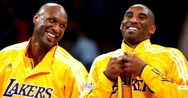Lamar Odom Honors NBA Hall of Fame Inductee Kobe Bryant Two Months after His Tragic Death