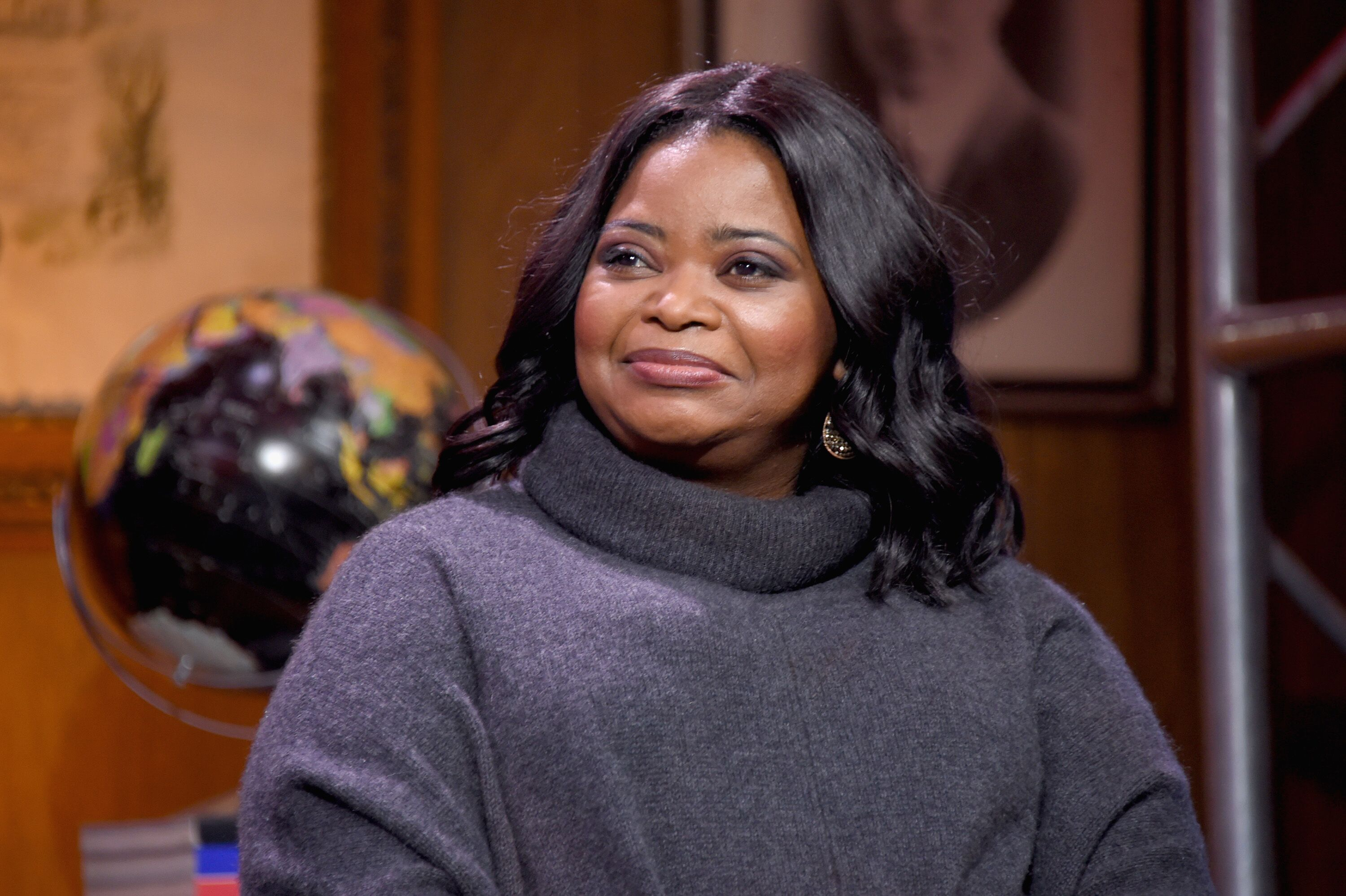Octavia Spencer at ABC interview/ Source: Getty Images