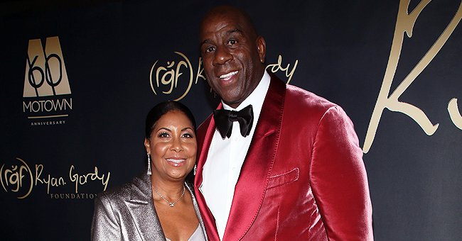 Magic Johnson & Wife Cookie Celebrated Valentine's Day with Touching Messages to Each Other