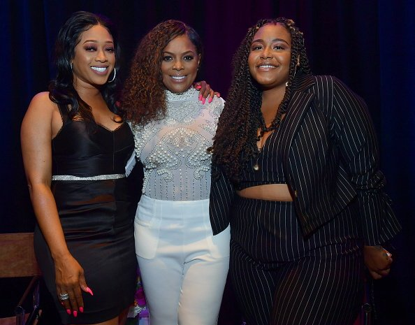 Carlysia Levert and friends at an event | Photo: Getty Images