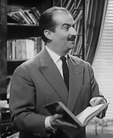 Le comédien Louis de Funès en 1959. l Source : Wikipedia