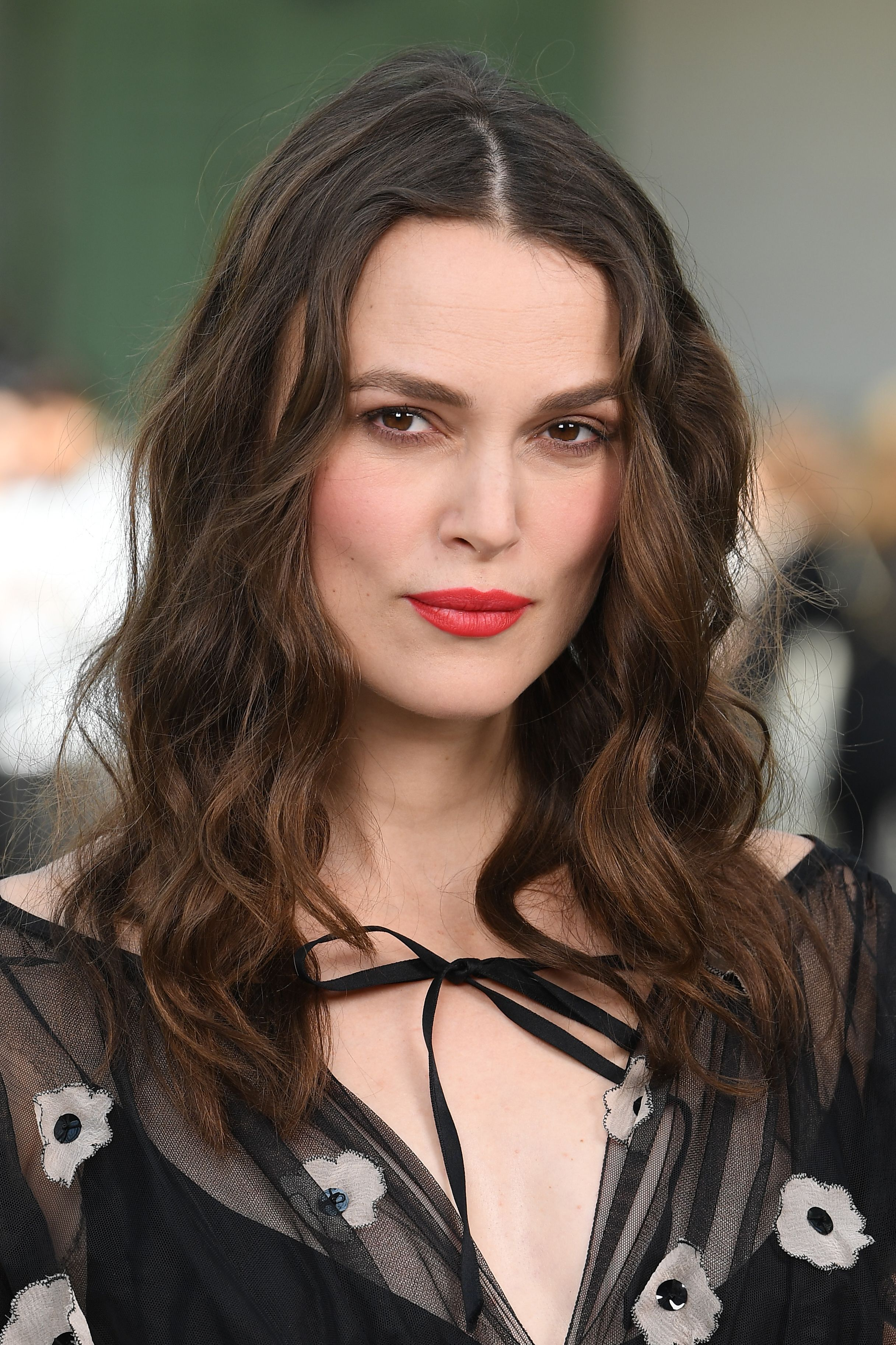 Keira Knightley at the Chanel Cruise 2020 Collection in 2019 in Paris, France | Source: Getty Images
