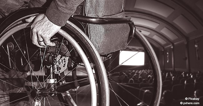 """Selon une femme, """"les personnes handicapées ne devraient pas être autorisées à entrer dans les salles de cinéma"""""""