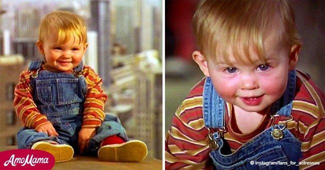 """L'adorable bébé de """"Bébé part en Vadrouille"""" est aujourd'hui âgé de 26 ans et il est impossible de le reconnaître"""