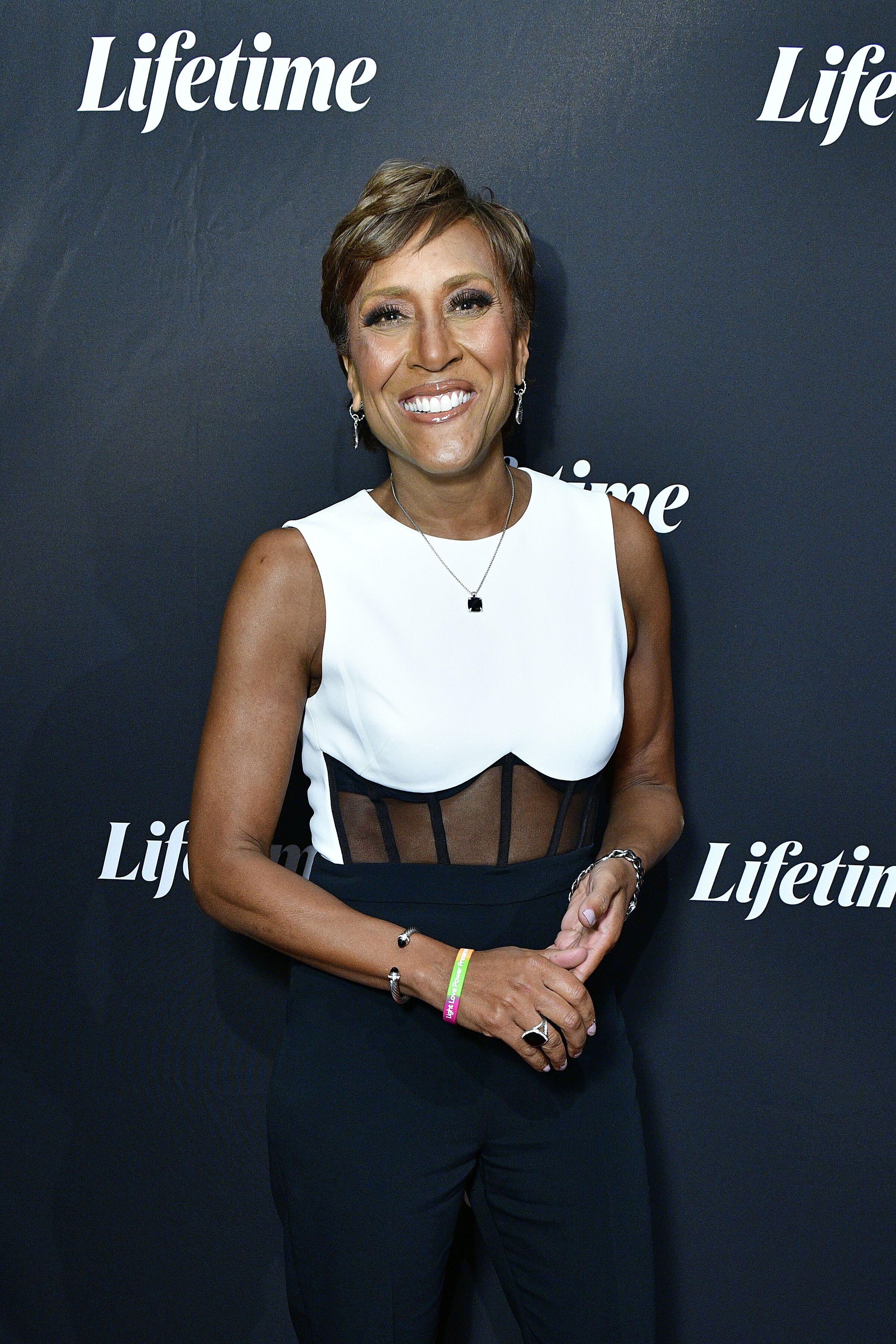 """Robin Roberts at the """"Robin Roberts Presents"""" Lifetime premiere at the Paley Center for Media in January 2020 